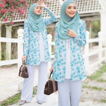 Chinta - Floral Blue