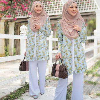 Chinta - Floral Green
