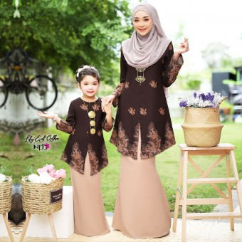 Lily Eid Adha Kids - Brown