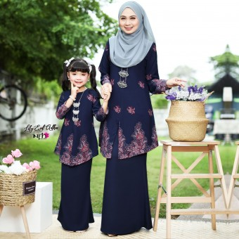 Lily Eid Adha Kids - Dark Blue