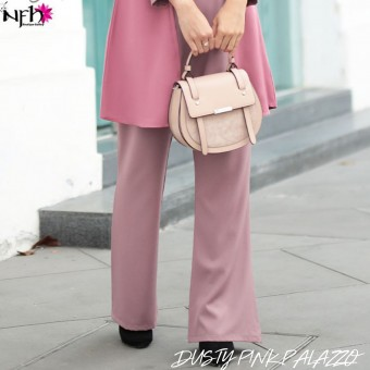Dusty Pink Palazzo for Damia Irdina